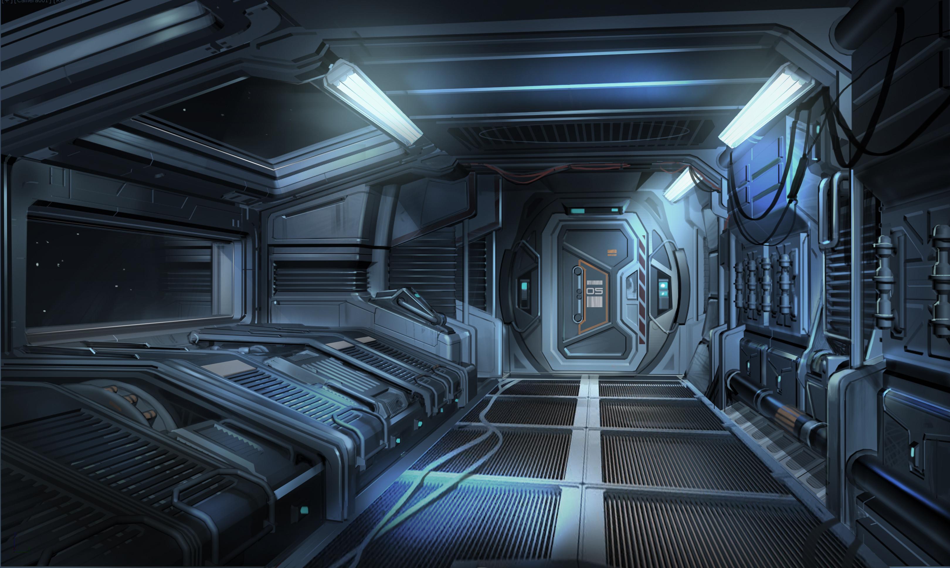 alien inside ship - HD3240×1936
