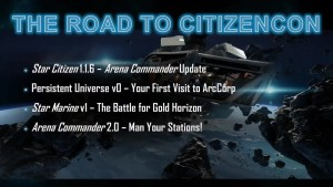 Gamescom Präsentation 2015 / Roadmap / CitizenCon