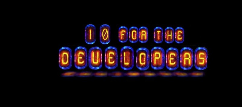 10 for the developers / Entwickler