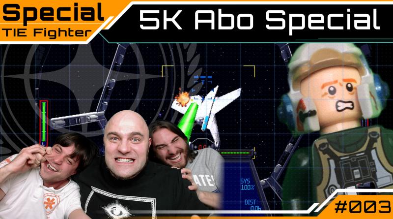 Crash / Special / 5k Abo / Tie Fighter