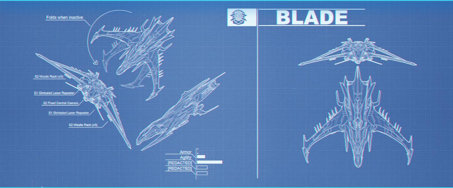 Esperia Vanduul Blade / Blaupause / Blueprint | StarCitizenBase