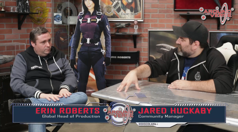 Erin Roberts / Jared Huckaby / Around the Verse Interview