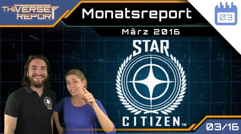 Crash / Verse Report / Monatsreport März 2016