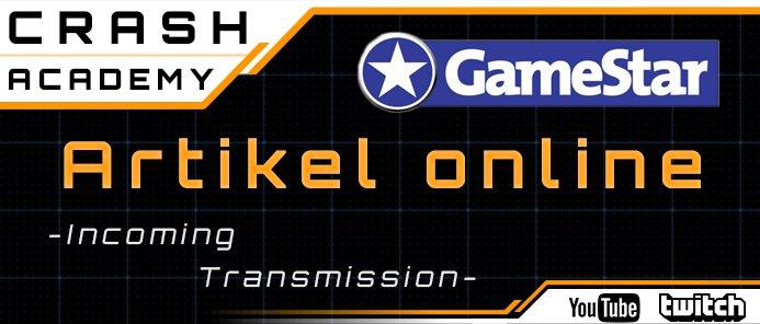 Crash / Gamestar / Patreon Message