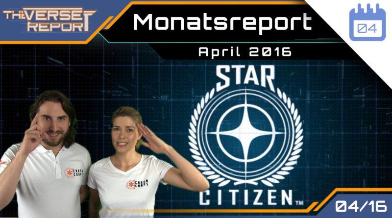 Crash / Verse Report / Monatsreport April 2016