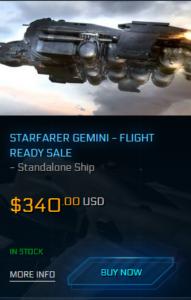 MISC Starfarer Gemini Sale 2.4