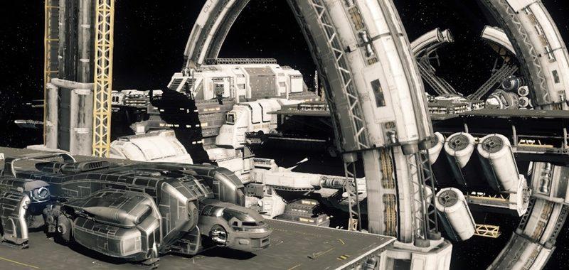 Port Olisiar / MISC Starfarer / landing