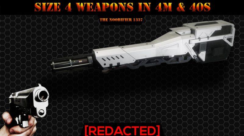 TheNoobifier / Size 4 Weapon
