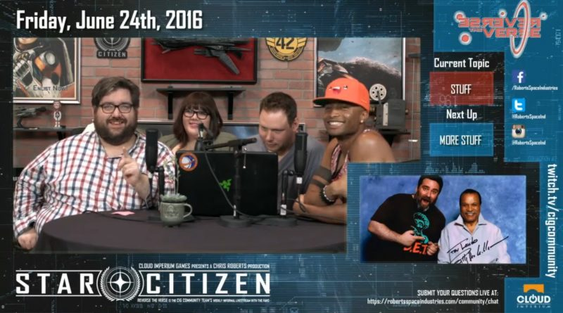 Reverse the Verse 100. Episode / 24. Juni 2016
