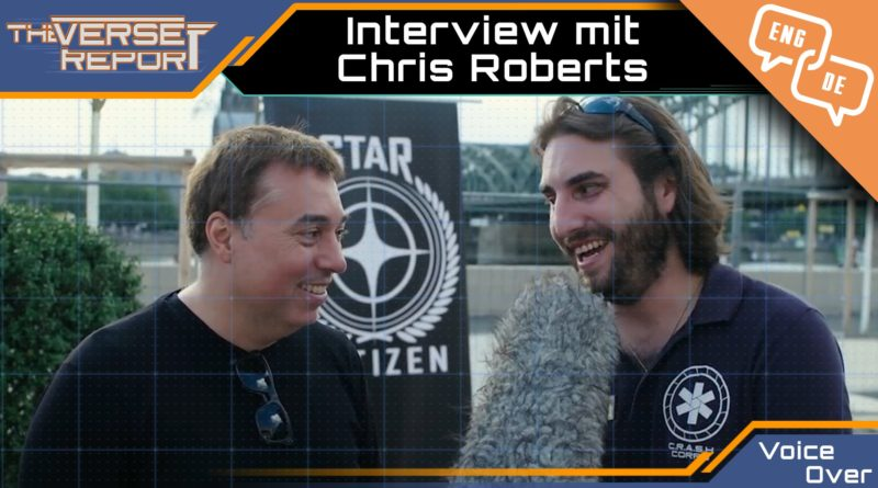 Crash / Voice Over / Interview mit Chris Roberts