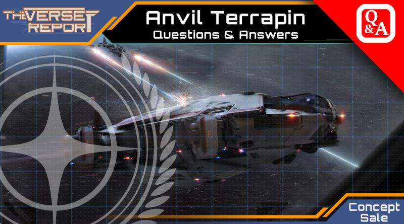 Crash / Verse Report / Anvil Terrapin