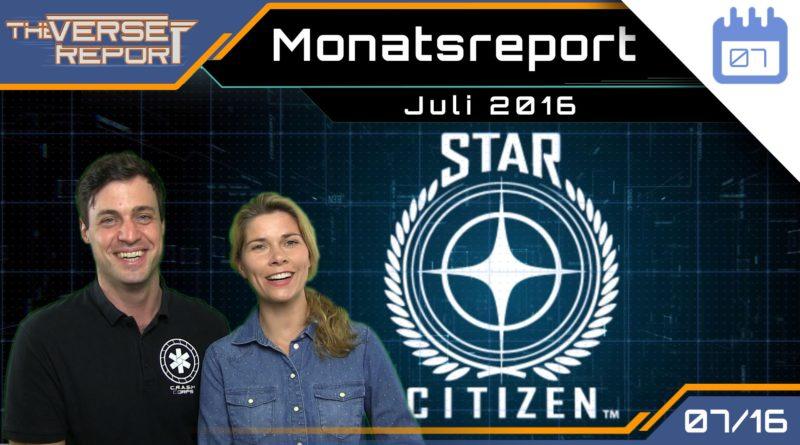Crash / Verse Report / Monatsreport Juli 2016