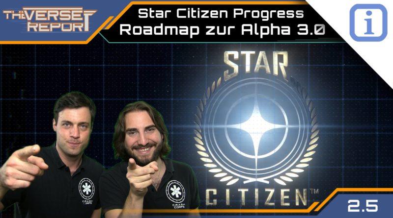 Crash / Verse Report / Roadmap zur Alpha 3.0