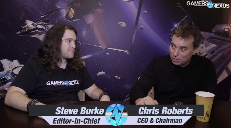 Gamers Nexus Interview mit Chris Roberts