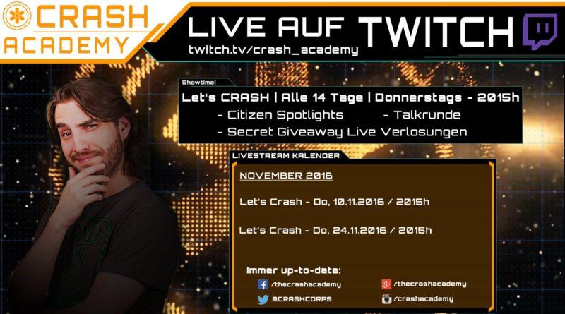 Crash / Crash Academy / Twitch