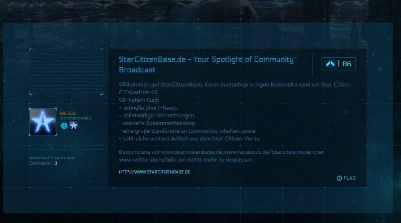 StarCitizenBase.de - DeepSpaceRadar - Community Hub
