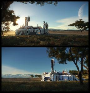 Outpost Skybox / Außenposten