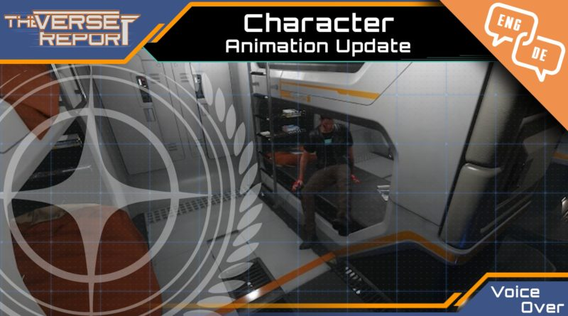 Crash / Verse Report / Character Animation update