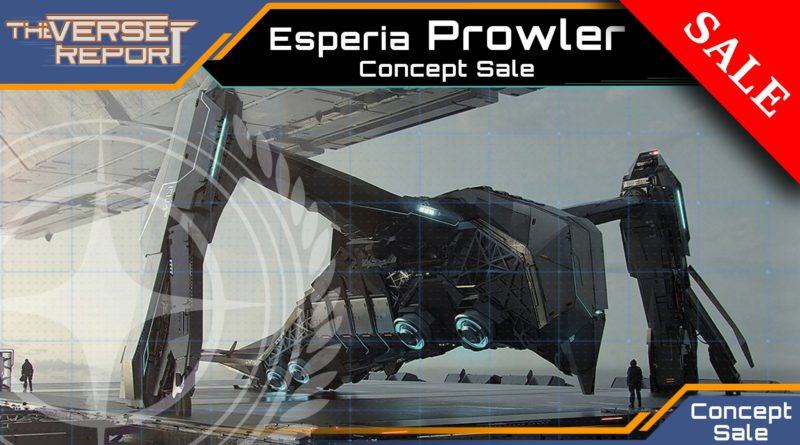 Crash / Verse Report / Esperia Prowler