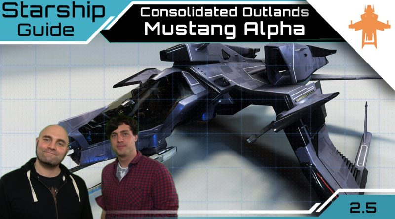 Crash / Starship Guide / Consolidated Outlands Mustang Alpha