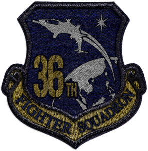 36th Fighter Squadron Patch