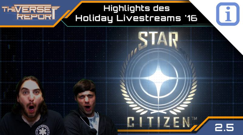 Crash / Verse Report / Holiday Livestream 2016