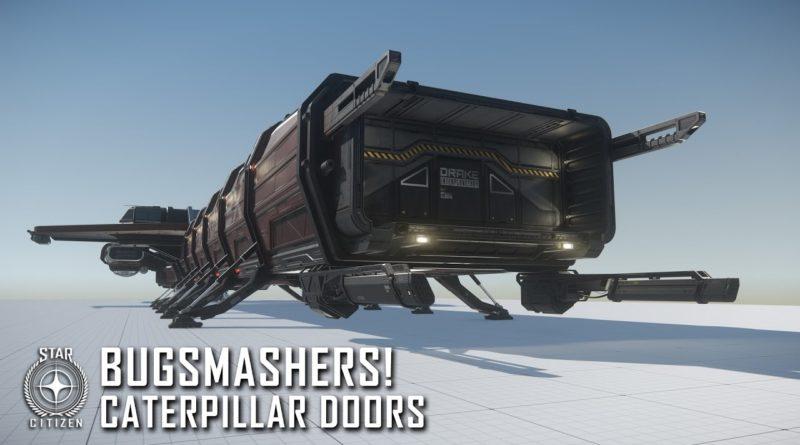 Bugsmashers! - Caterpillar Doors