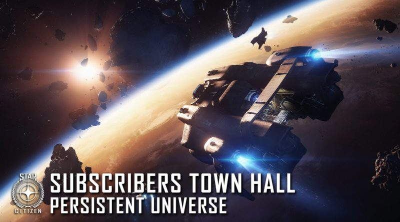 Subscribers Town Hal - Persistent Universe