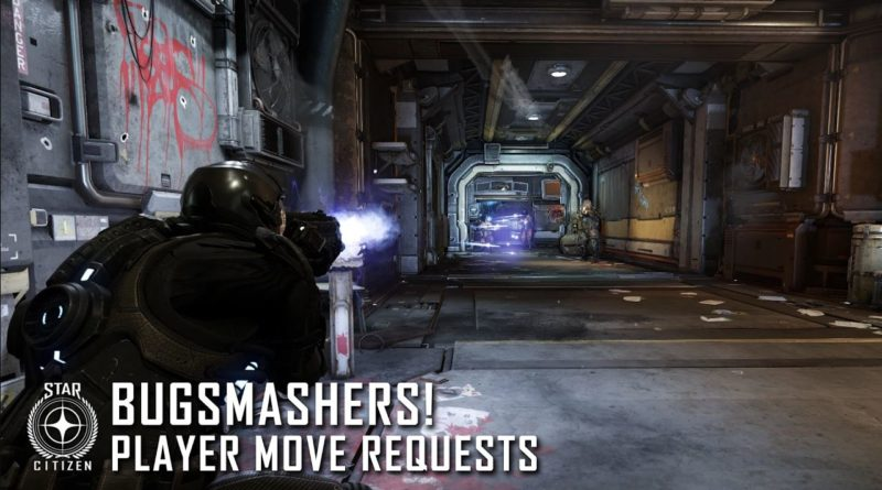 Bugsmashers! Player Move Requests