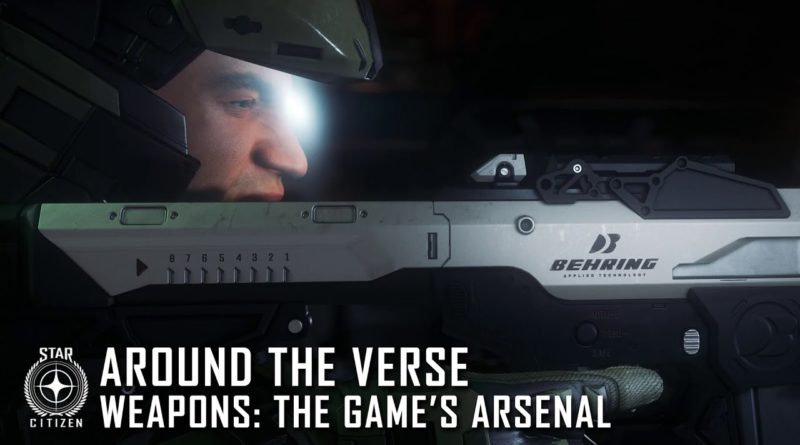 Around the Verse Weapons: The Game's Arsenal