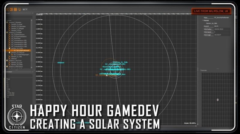 Happy Hour: GameDev - Creating a Solar System