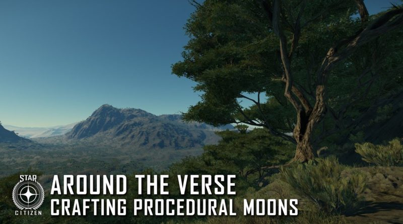 Around the Verse - Crafting procedural moons