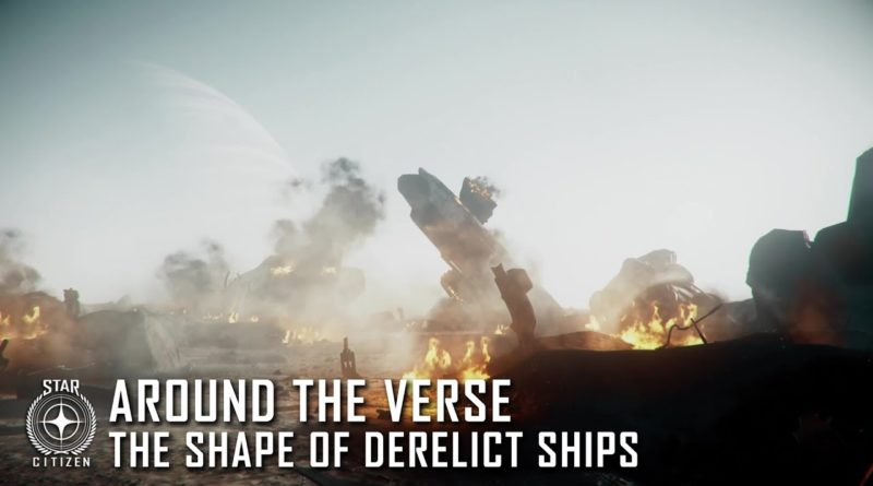 Around the Verse - Derelict Ships