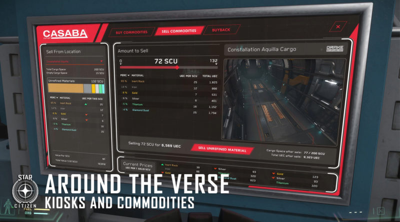 Around the Verse - Kiosks and Commodities