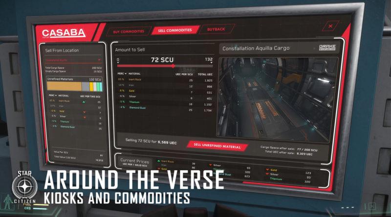 Around the Verse - Kiosks and Commodities