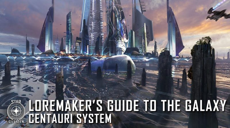 Loremaker's Guide to the Galaxy: Centauri System