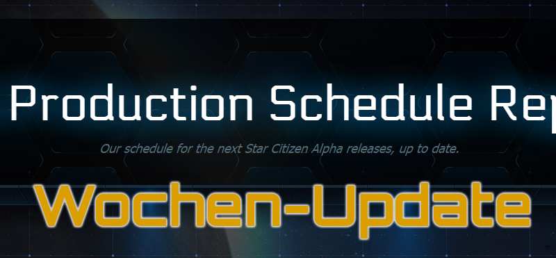 Production Schedule Update