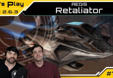 Star Citizen AEGIS Retaliator | Lets Play