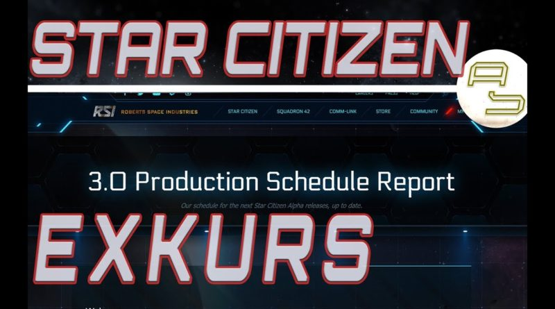 AstroSam / Exkurs / 3.0 Production Schedule