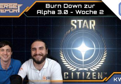 Burndown Woche 2 zur Alpha 3.0   SCB Verse Report