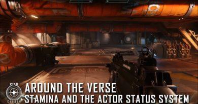 Around the Verse – Stamina und das Actor Status System