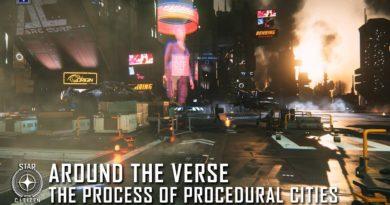 Around the Verse  – Die Herstellung von prozeduralen Städten