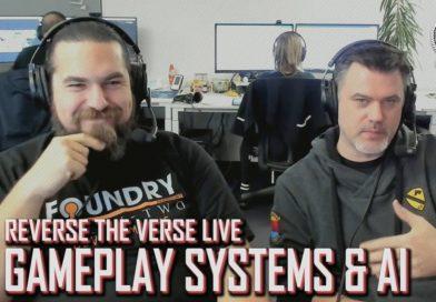 Reverse the Verse LIVE – Gameplay Systeme und KI