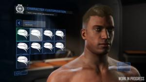 Star Citizen Charaktereditor Frisuren