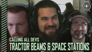 StarCitizenBase CaD Tractor Beams And Space Stations