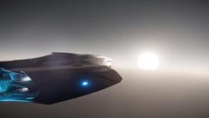 StarCitizenBase AtV A New Origin 600i Flug