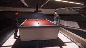 StarCitizenBase AtV A New Origin 600i Pool Table