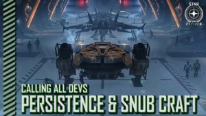 StarCitizenBase CaD Persistence Snub Landing