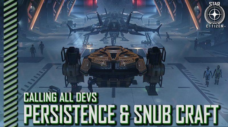 StarCitizenBase CaD Persistence Snub Landing