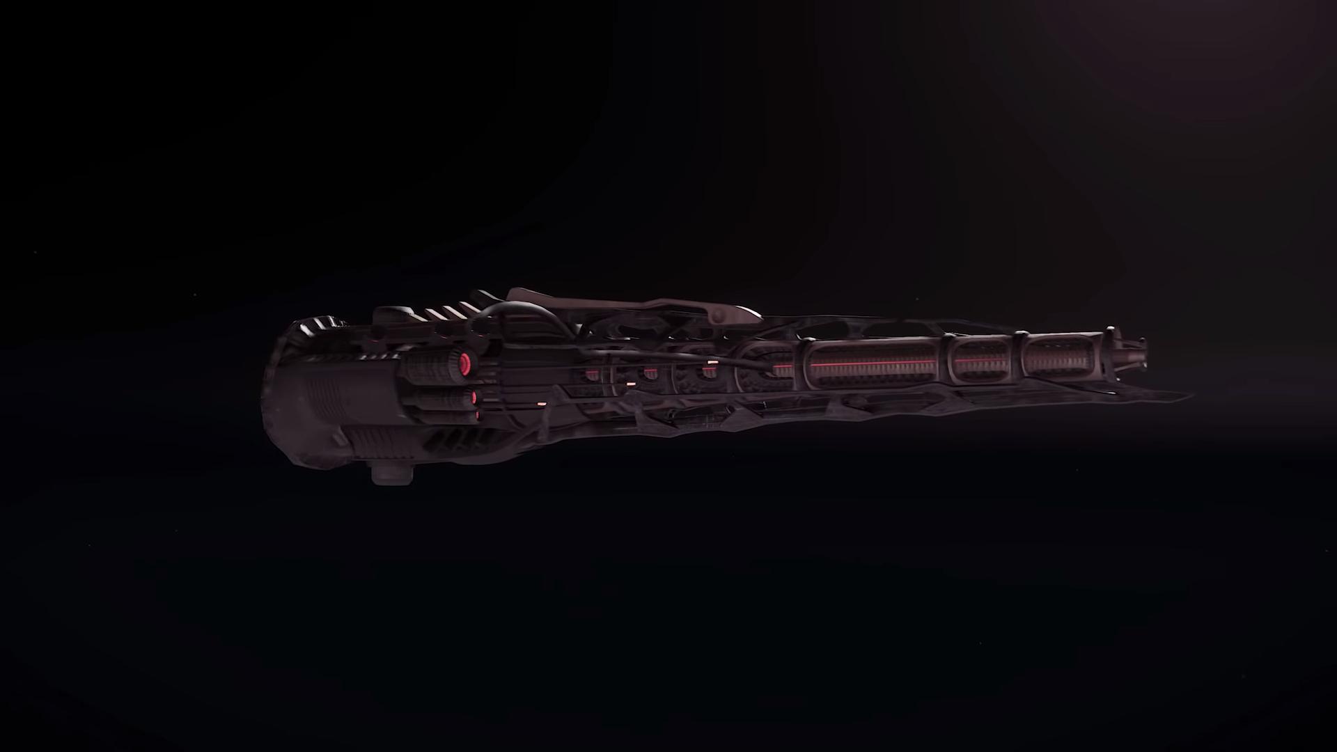 AtV Ship Shape Vanduul Weapon